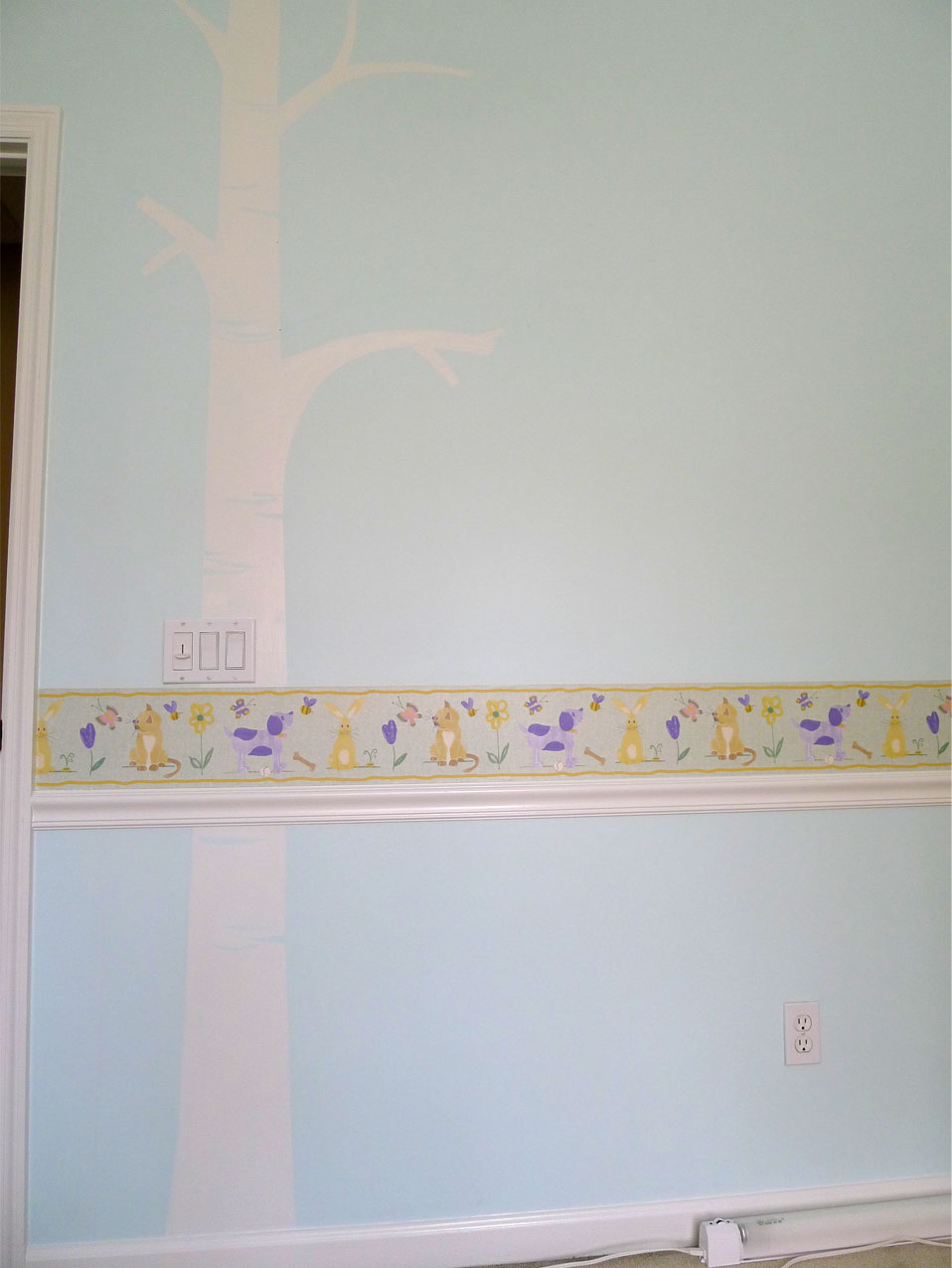 wall mural sweetsourmoments baby nursery wall 3