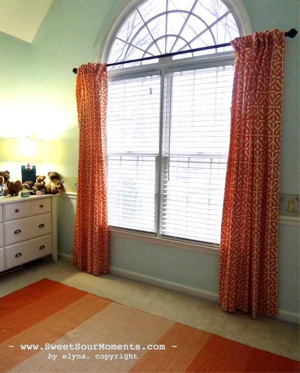 Curtain nursery 1