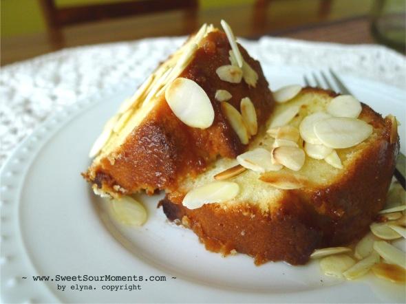 Almond Pound Cake 2