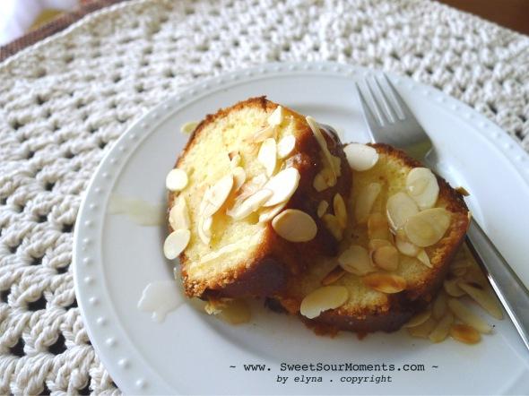 Almond Pound Cake 3