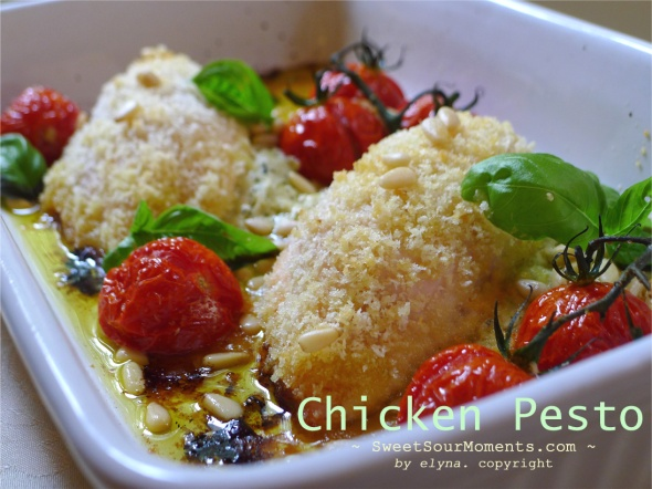 chicken pesto 1