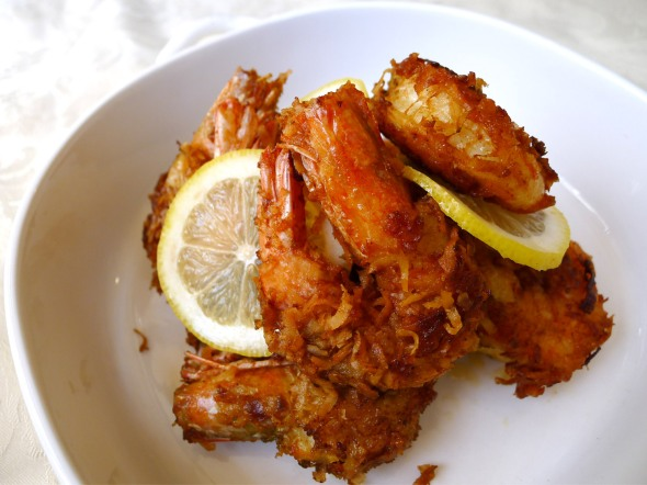 coconut fried shrimp 2