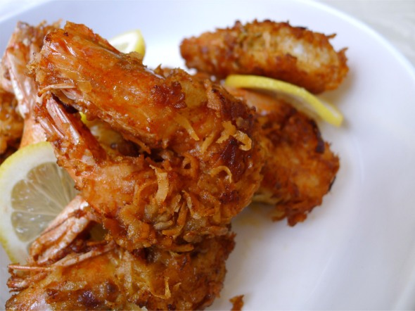 coconut fried shrimp 3