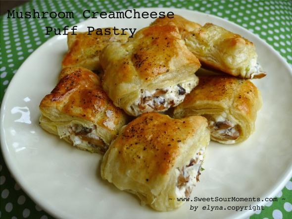 mushroom pastry
