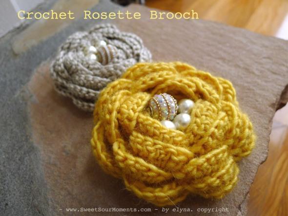 Rosette brooch 1