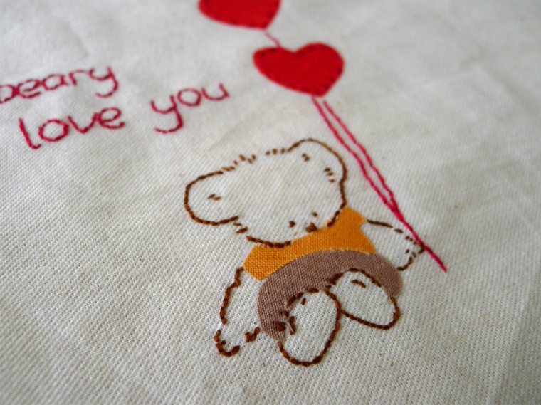bear embroidery 5