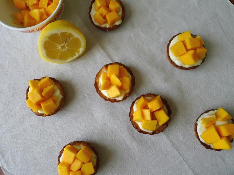 lemon tartlet with mango 4
