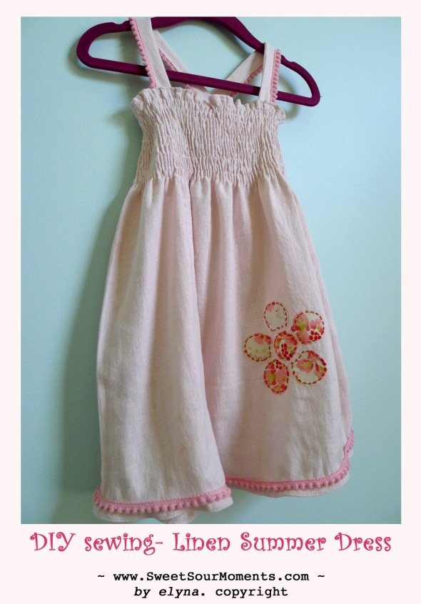 Linen dress 1