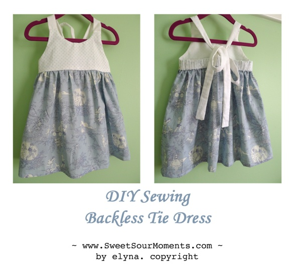 backless tie dress 1