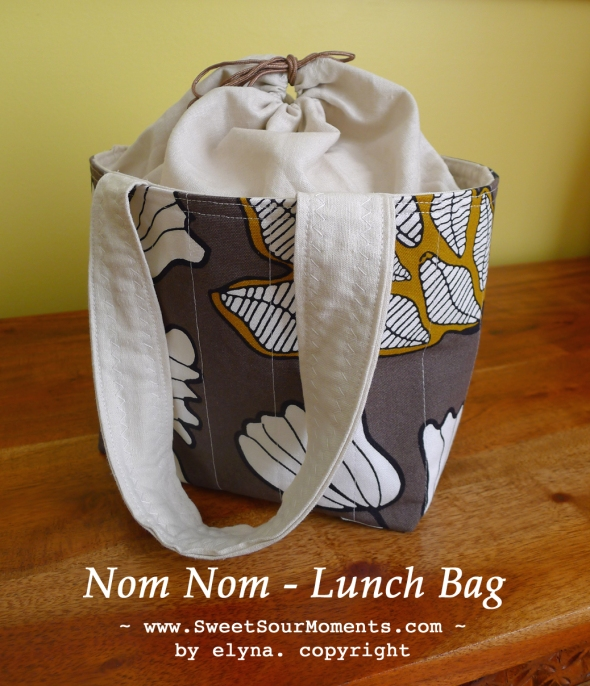 Nom Nom lunch bag 1