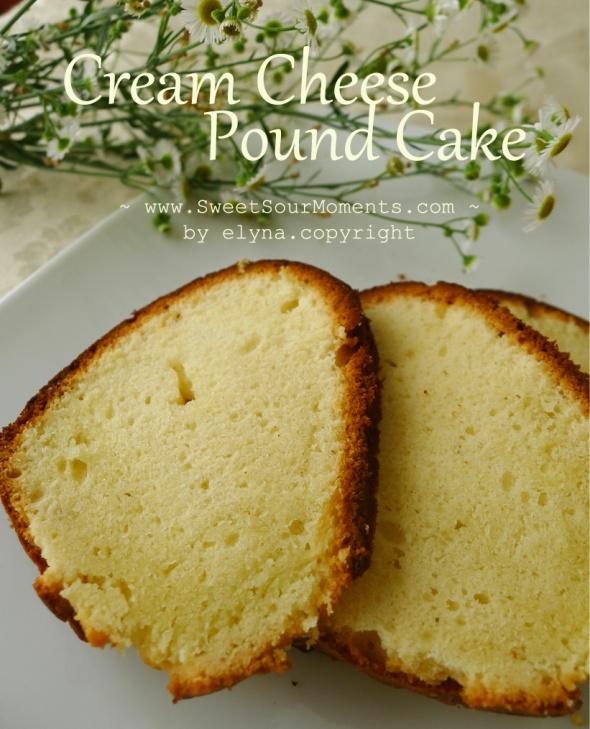 cream sheese pound cake