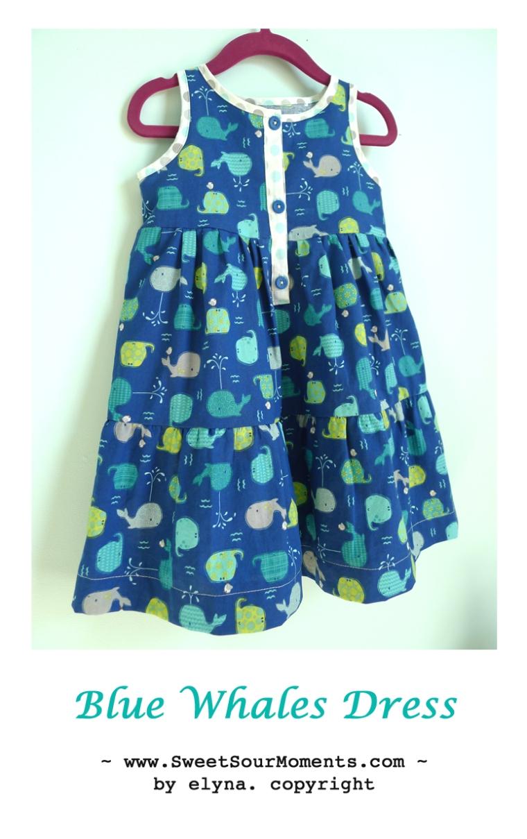 Blue Whales Dress 1