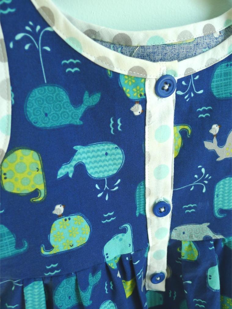 Blue Whales dress 3