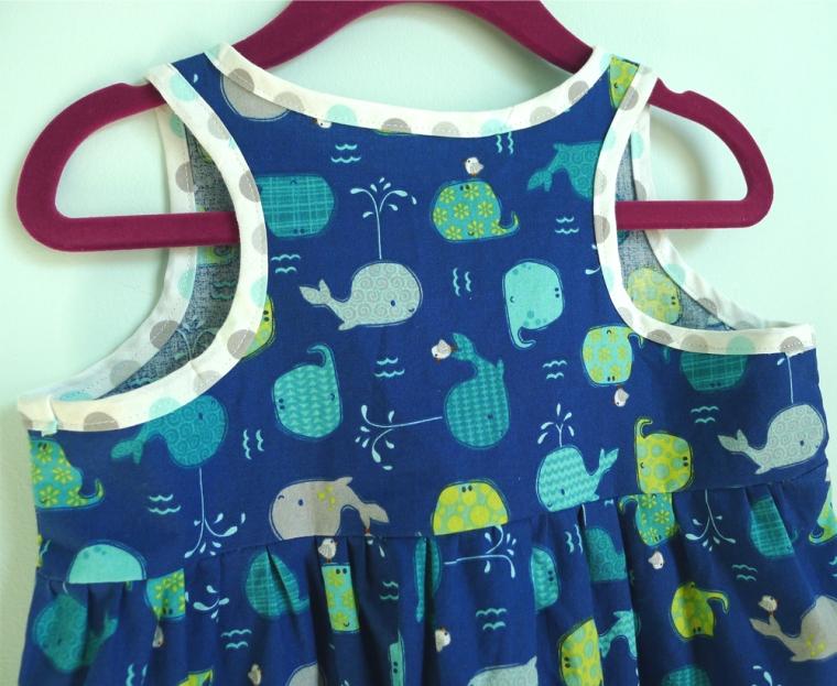 Blue Whales Dress 5