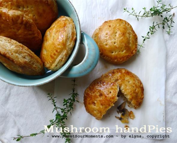 Mushroom handpies