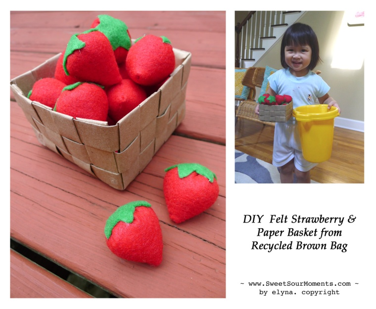 Felt Strawberry fb