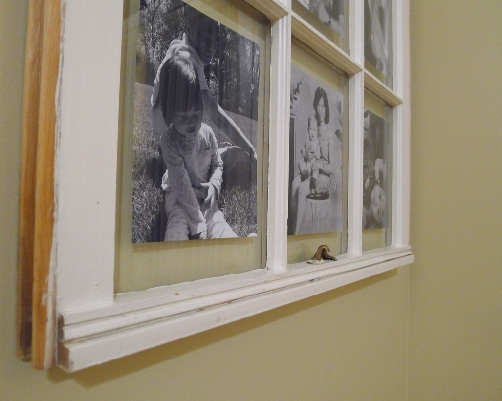 diy rustic picture frame sweetsourmoments