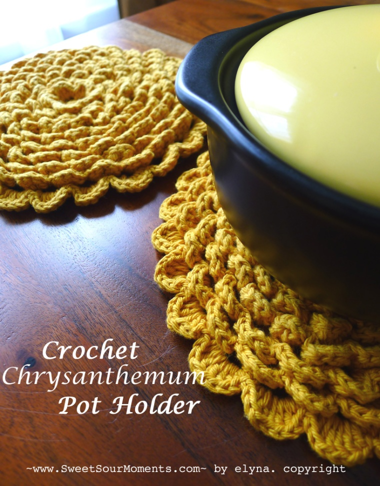 chrysanthemum pot holder 1