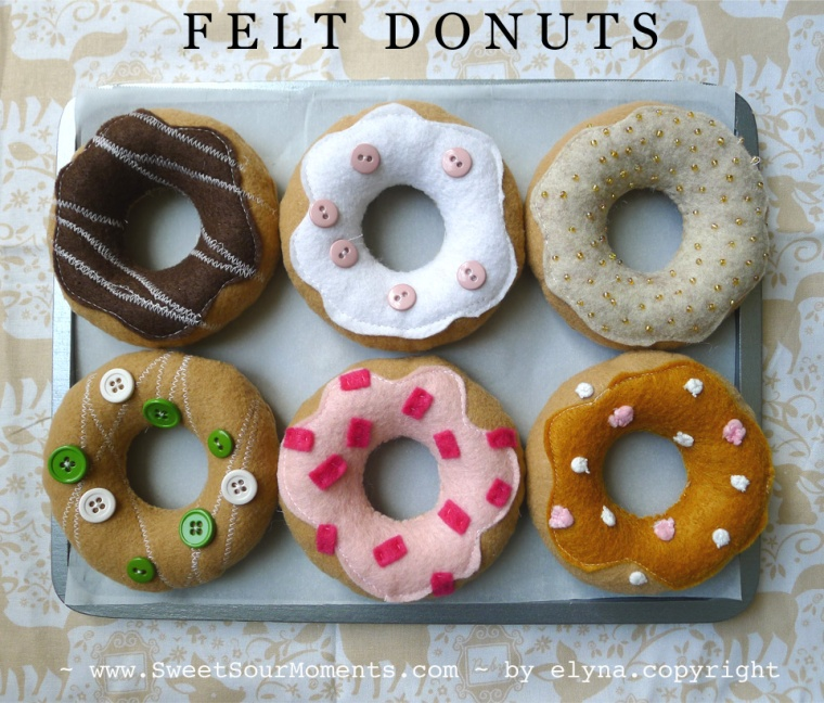 Felt Donuts 1