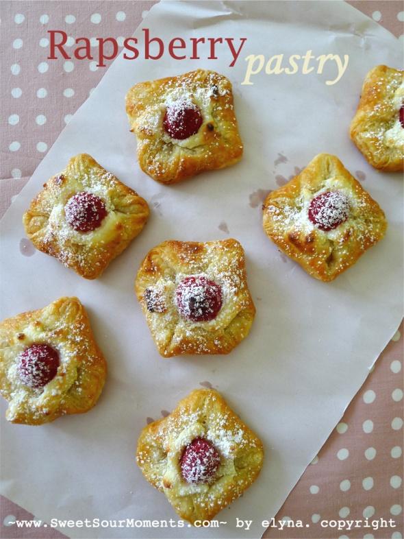 raspberry pastry 1