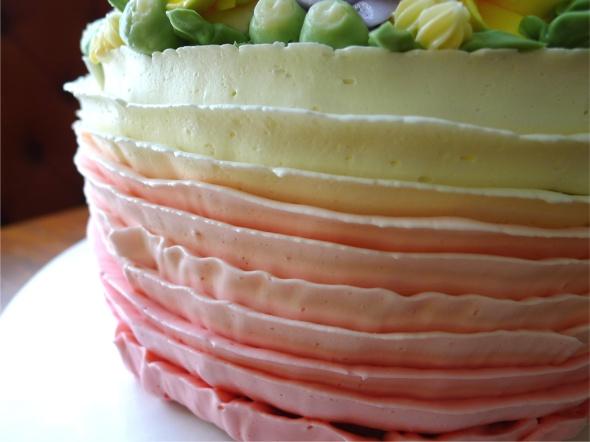 ladybug cake 1