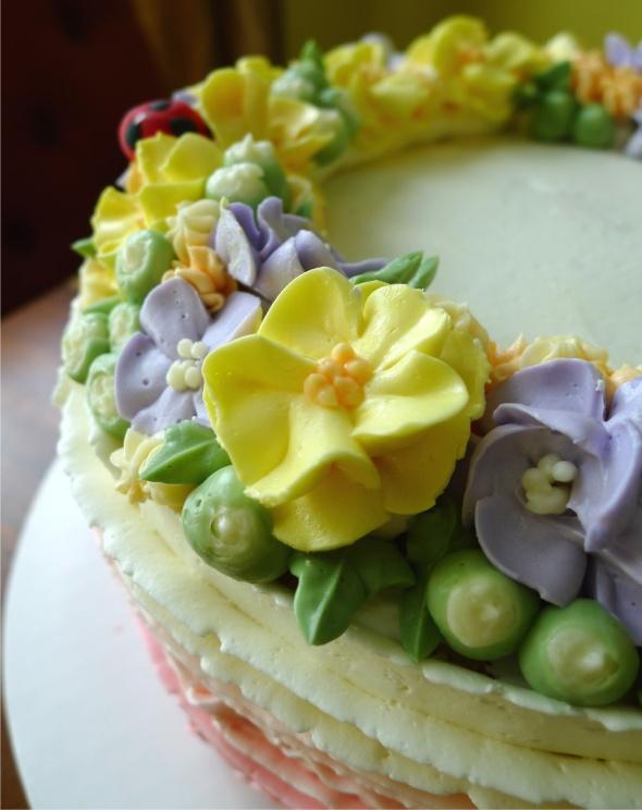 ladybug cake 3