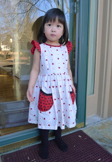 ladybug dress 5