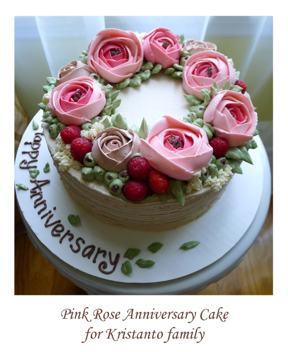 kristanto anniv cake